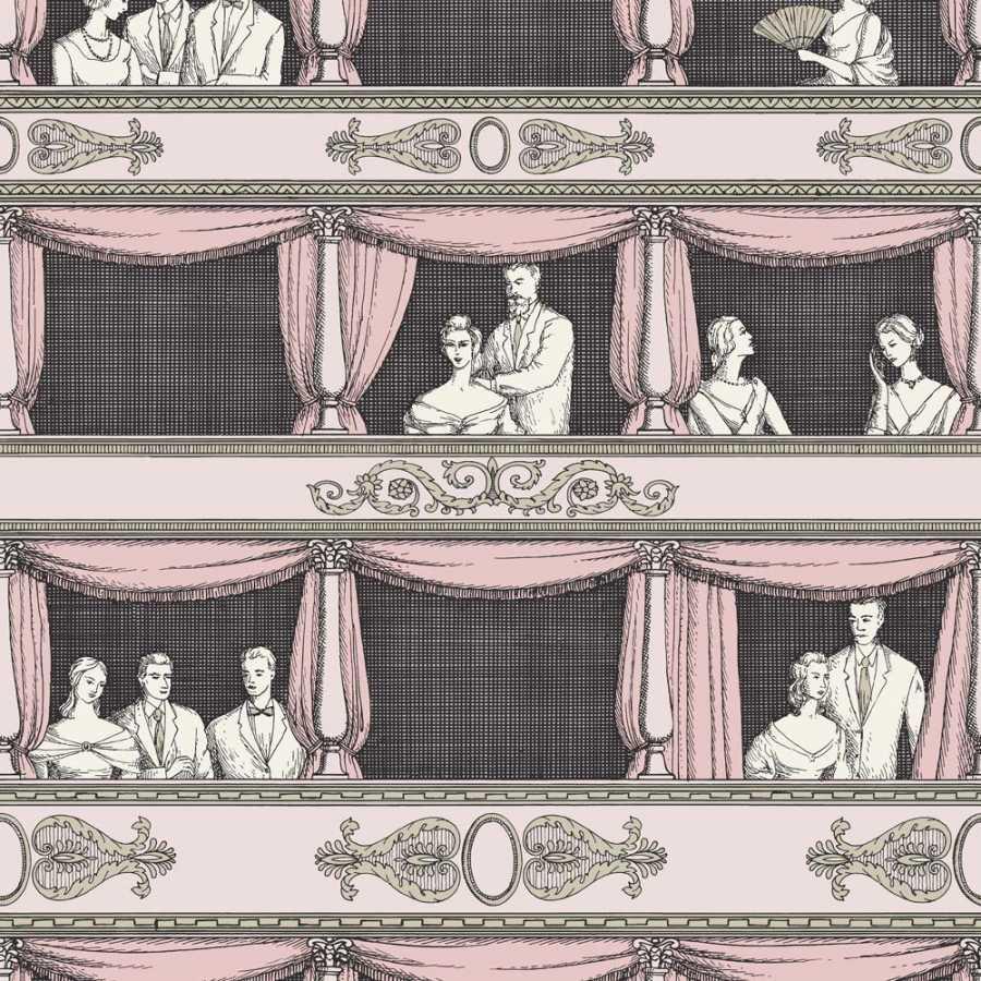Cole & Son Fornasetti Teatro 114/4008 Wallpaper