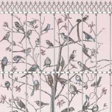 Cole and Son Fornasetti Uccelli 114/11022 Wallpaper