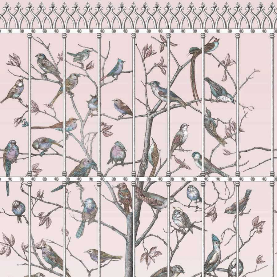Cole & Son Fornasetti Uccelli 114/11022 Wallpaper