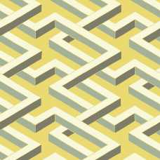 Cole and Son Geometric II Luxor 105/1005 Wallpaper