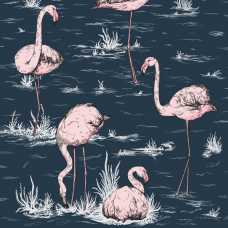 Cole & Son Icons Flamingos 112/11041 Wallpaper