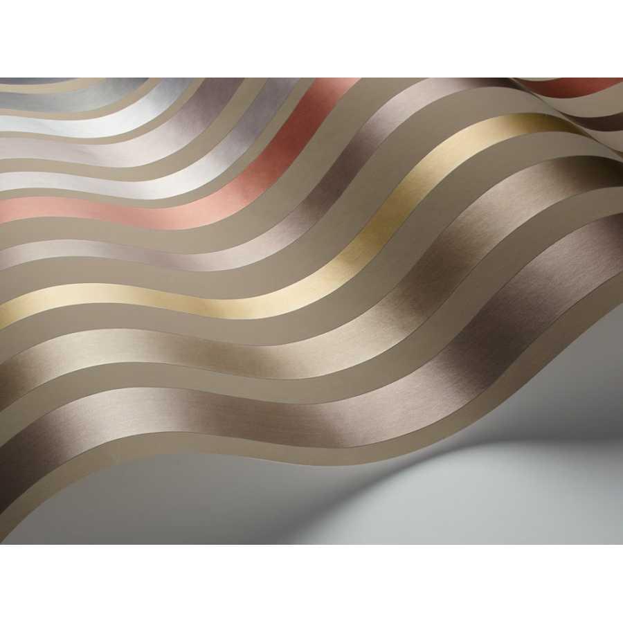 Cole and Son Mariinsky Damask Carousel Stripe 108/6030 Wallpaper