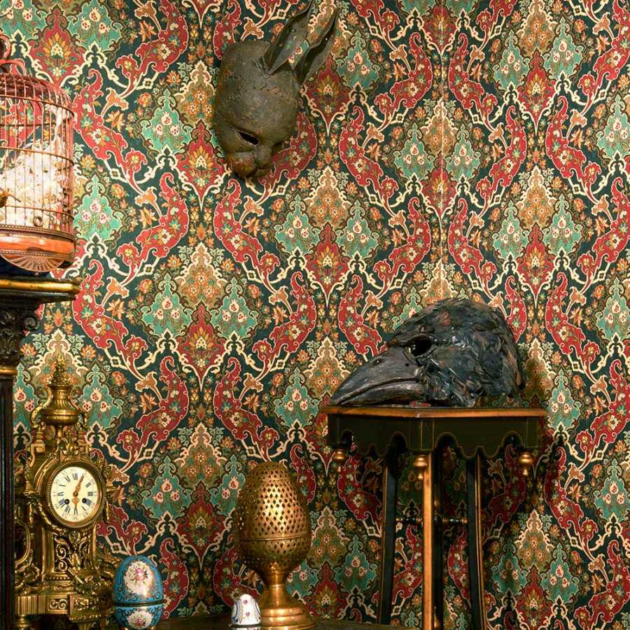 Cole and Son Mariinsky Damask Pushkin 108/8040 Wallpaper