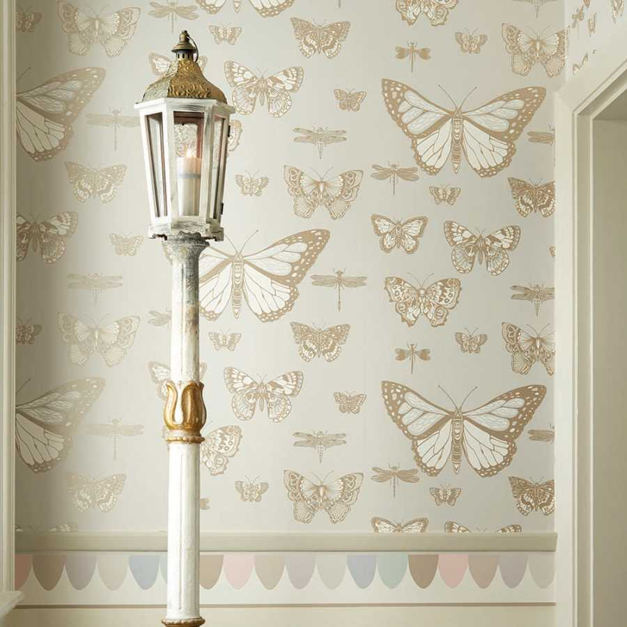 Cole and Son Whimsical Butterflies & Dragonflies 103/15064 Wallpaper