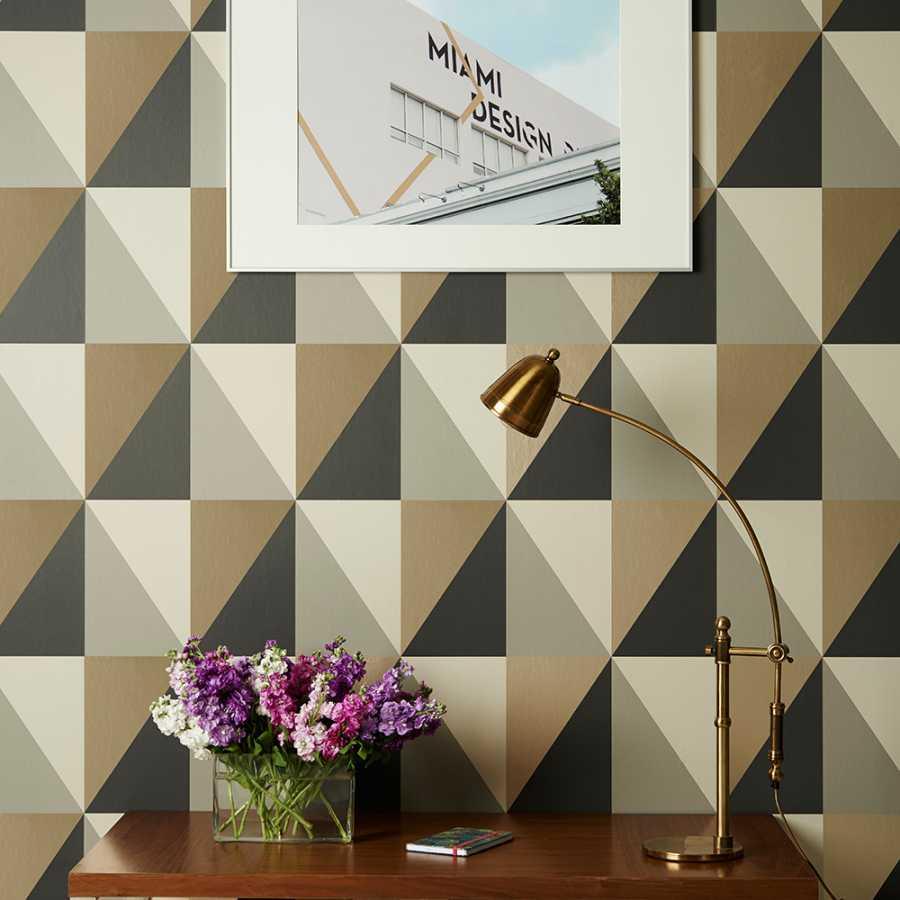 Cole and Son Geometric II Apex Grand 105/10043 Wallpaper