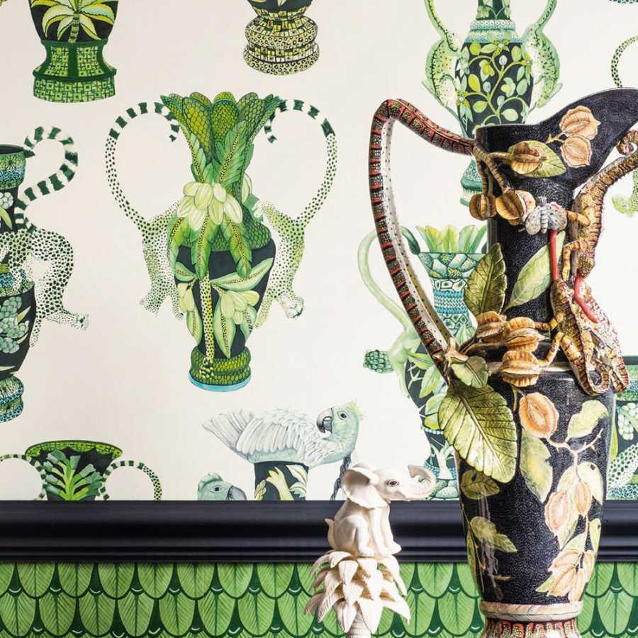 Cole & Son Ardmore Khulu Vases 109/12056 Wallpaper