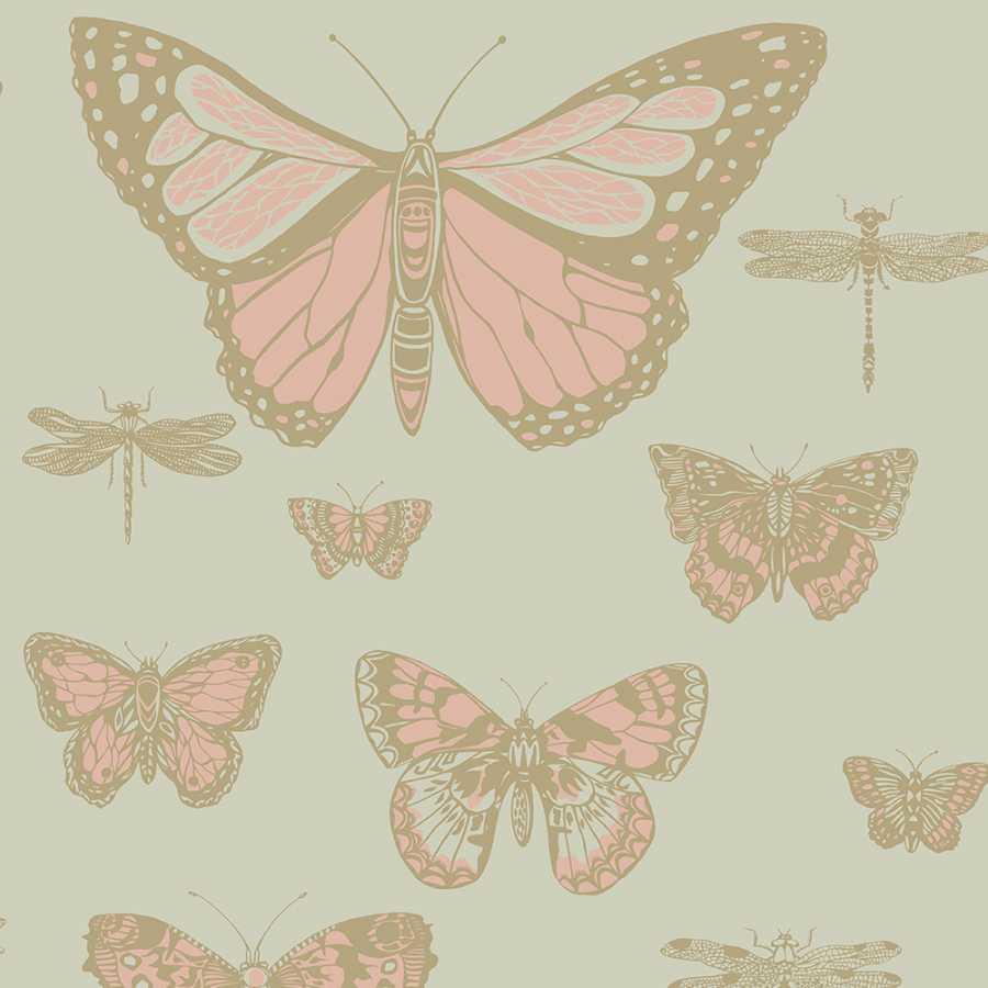Cole & Son Whimsical Butterflies & Dragonflies 103/15063 Wallpaper