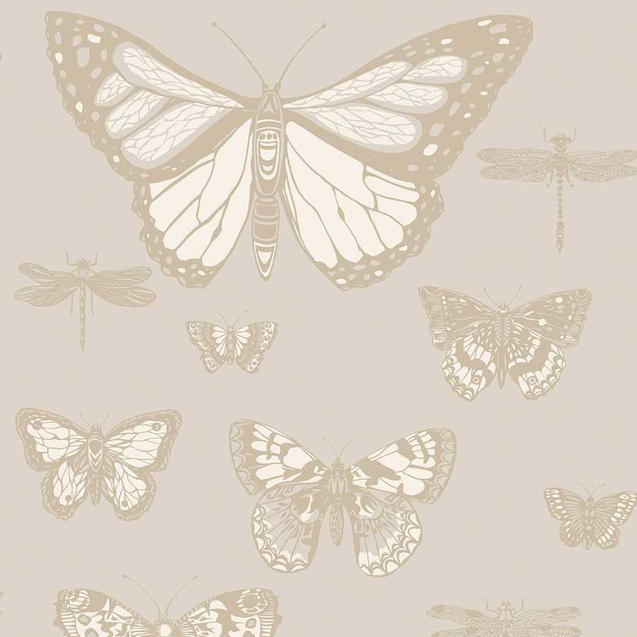 Cole & Son Whimsical Butterflies & Dragonflies 103/15064 Wallpaper