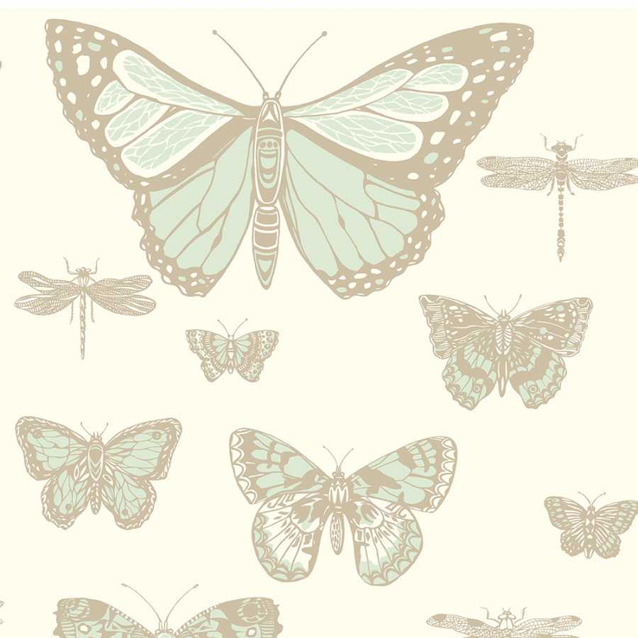 Cole & Son Whimsical Butterflies & Dragonflies 103/15065 Wallpaper