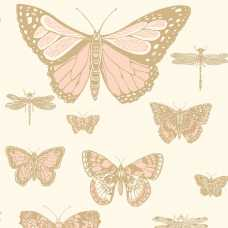 Cole and Son Whimsical Butterflies & Dragonflies 103/15066 Wallpaper