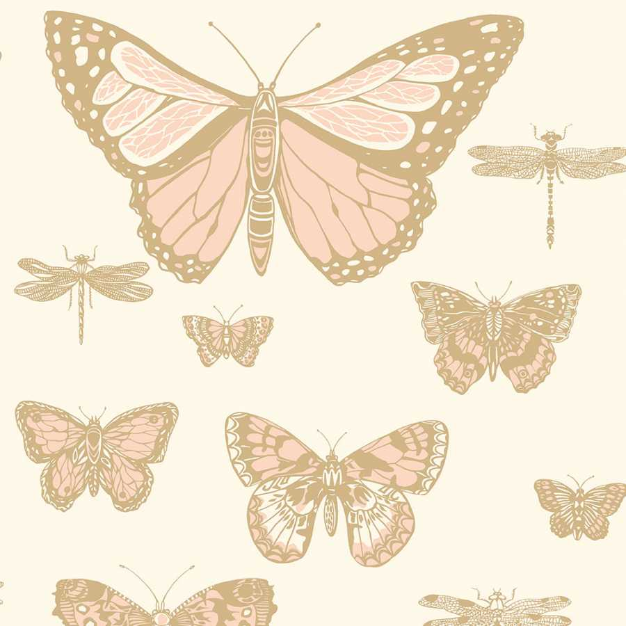 Cole & Son Whimsical Butterflies & Dragonflies 103/15066 Wallpaper