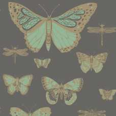 Cole and Son Whimsical Butterflies & Dragonflies 103/15067 Wallpaper