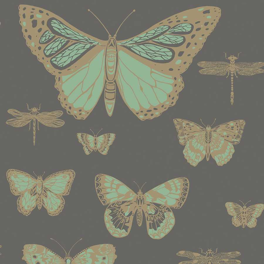 Cole & Son Whimsical Butterflies & Dragonflies 103/15067 Wallpaper