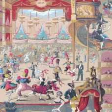 Cole and Son Whimsical Cabaret 103/7026 Wallpaper