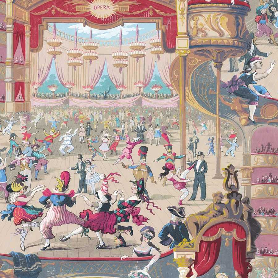 Cole & Son Whimsical Cabaret 103/7026 Wallpaper