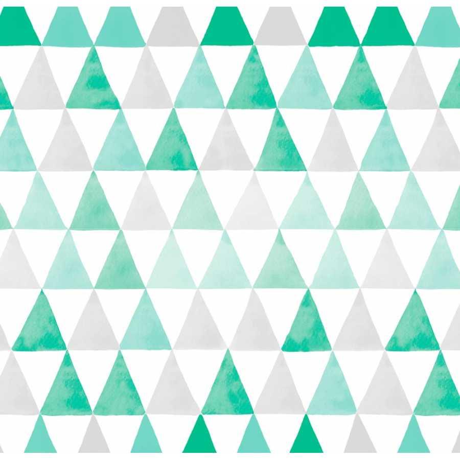 Coordonne Tales Deltas Aqua Wallpaper