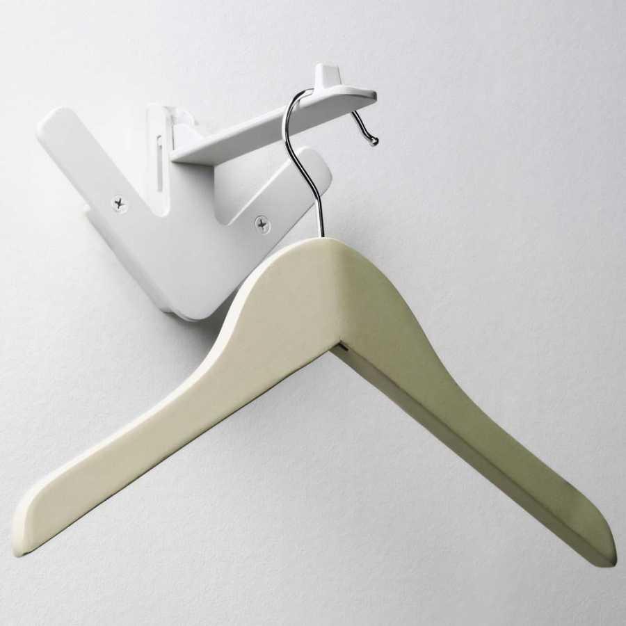 Design House Stockholm Arrow Flip Down Hangers - White