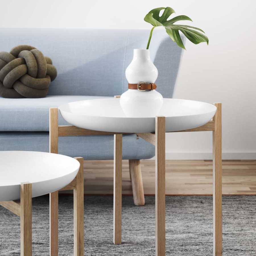Design House Stockholm Alba Vases - White