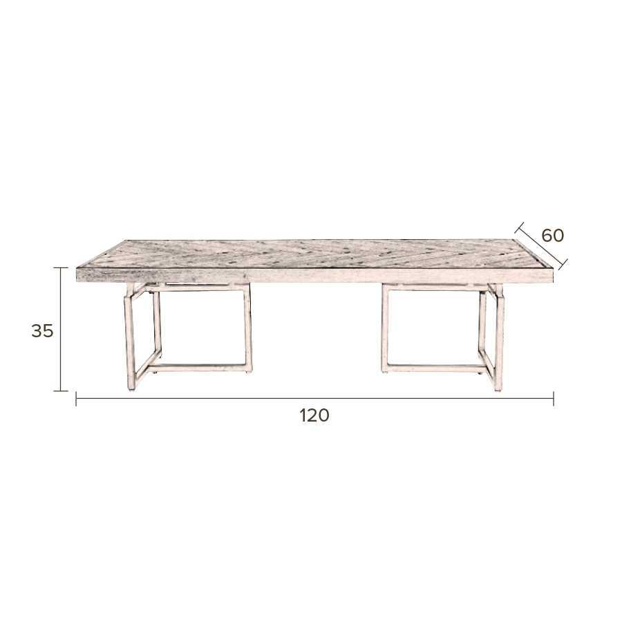 Dutchbone Class Coffee Table - Sizes in cm