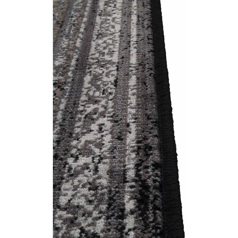 Dutchbone Rugged Rug - Dark