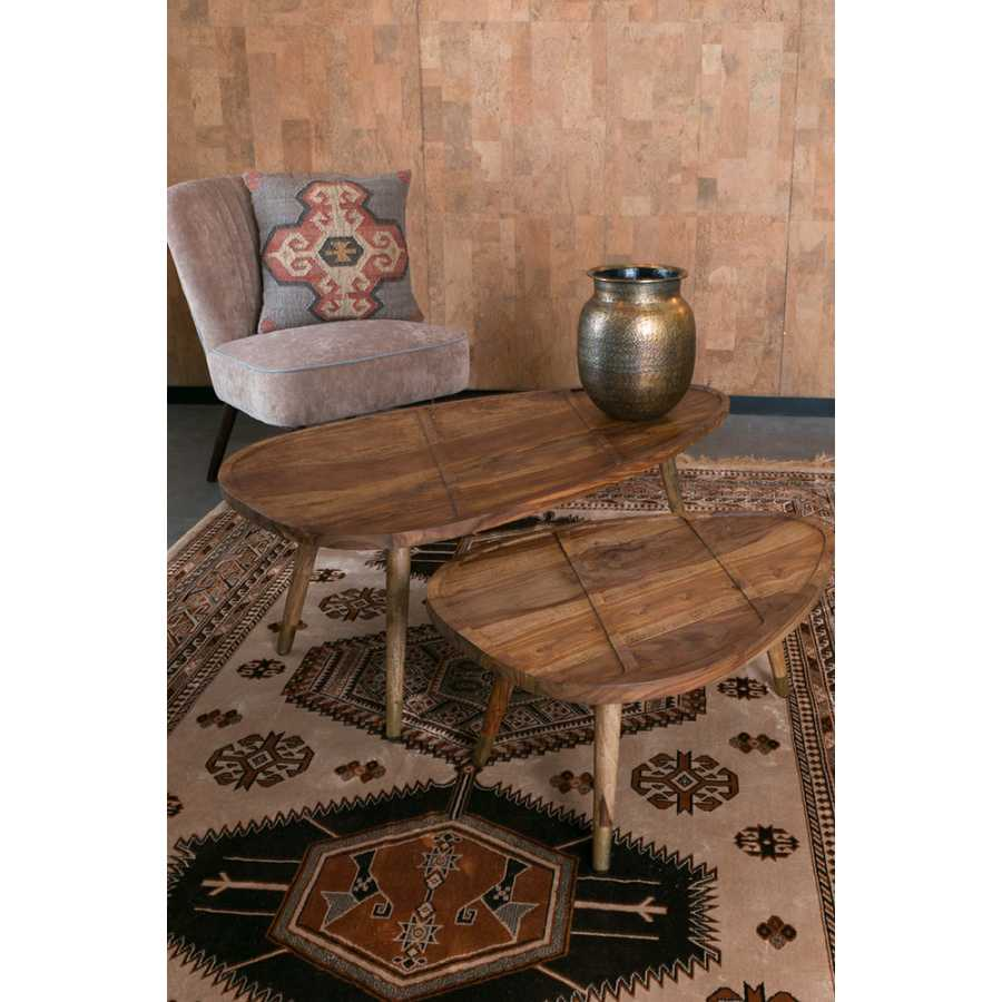 Dutchbone Sham Coffee Tables - Set of 2