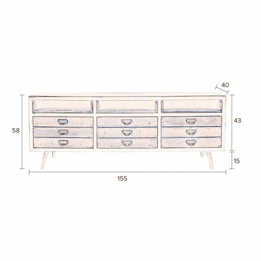 Dutchbone Sol Sideboard - Sizes in cm