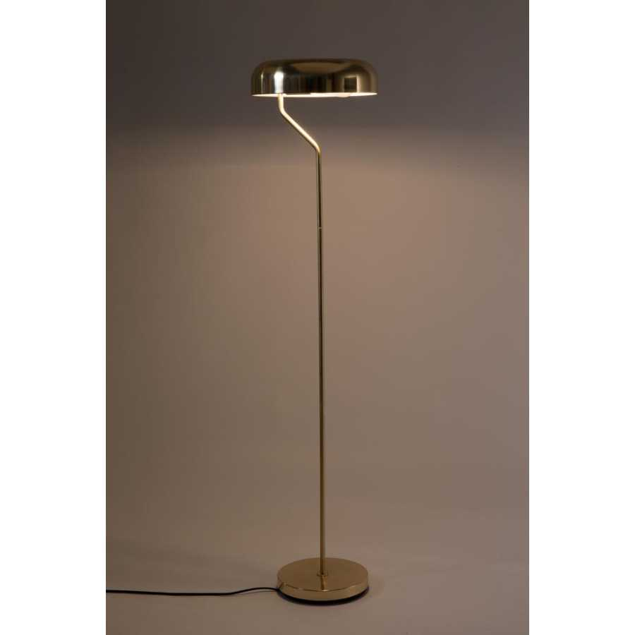 Dutchbone Eclipse Floor Lamp - Brass