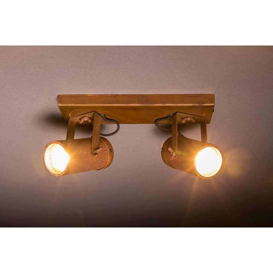Dutchbone Scope-2 LED Spotlight - Rust