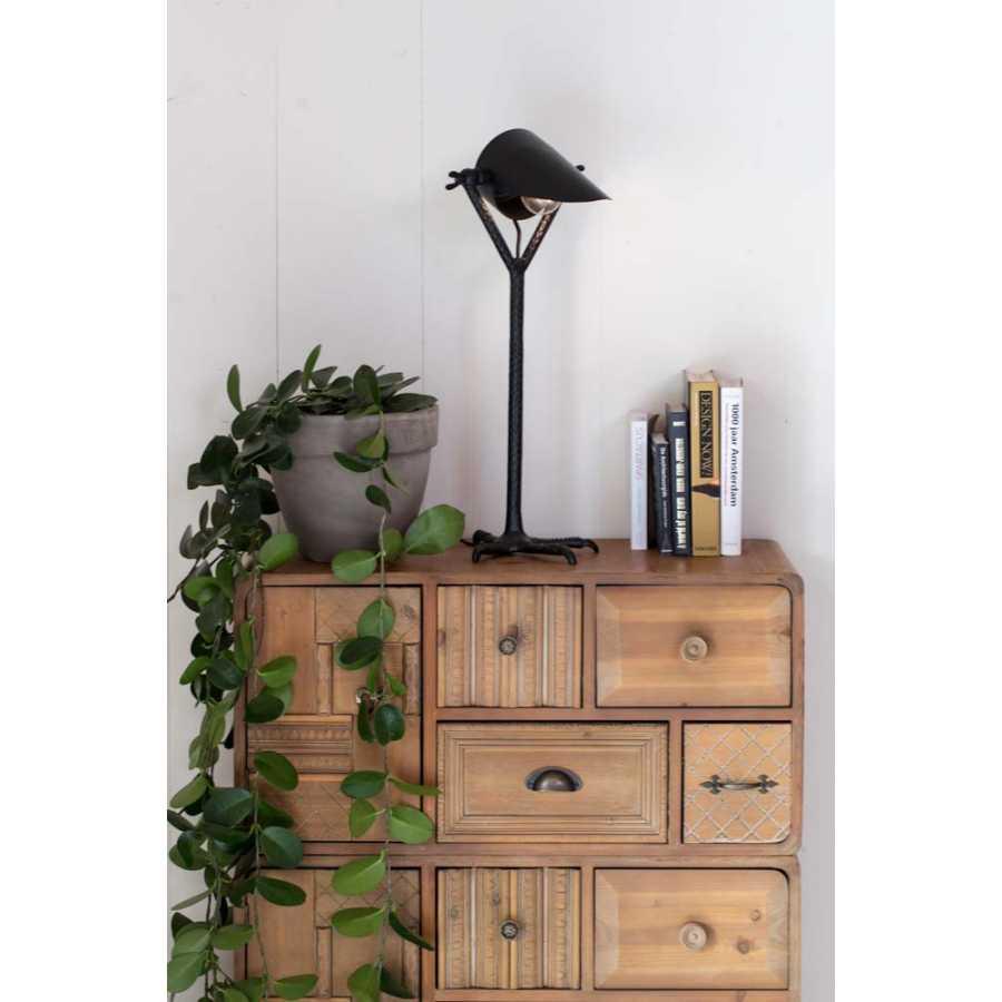 Dutchbone Falcon Table Lamp - Black
