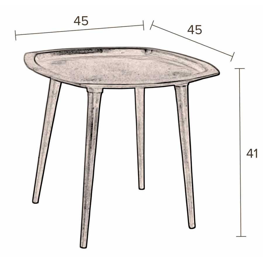 Dutchbone Abbas Side Table