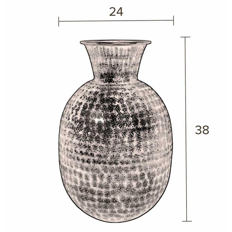 Dutchbone Bahir Vase - Sizes in cm
