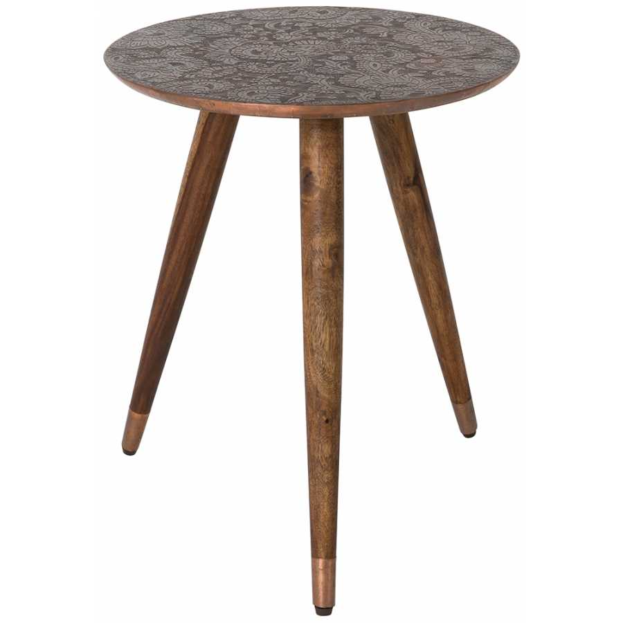 Dutchbone Bast Side Table - Copper