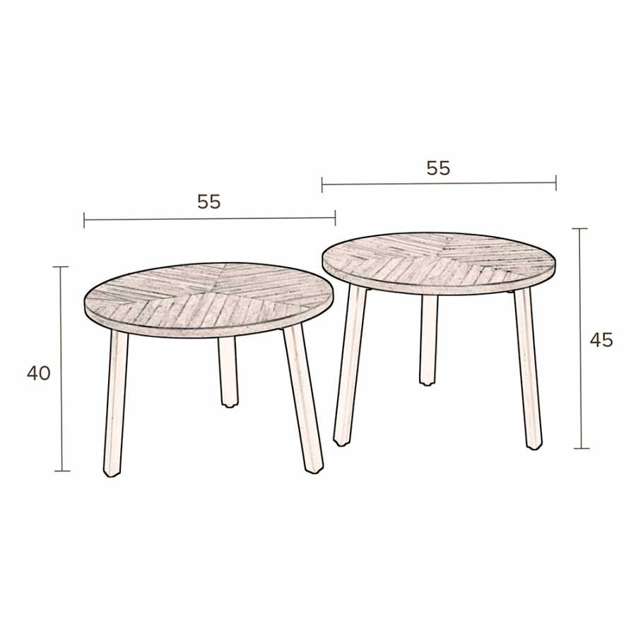 Dutchbone Mundu Coffee Tables