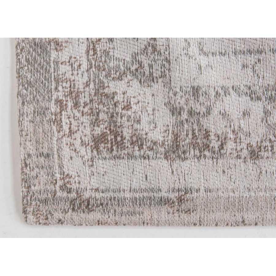 Louis De Poortere Medallion Rug - Salt & Pepper 8383