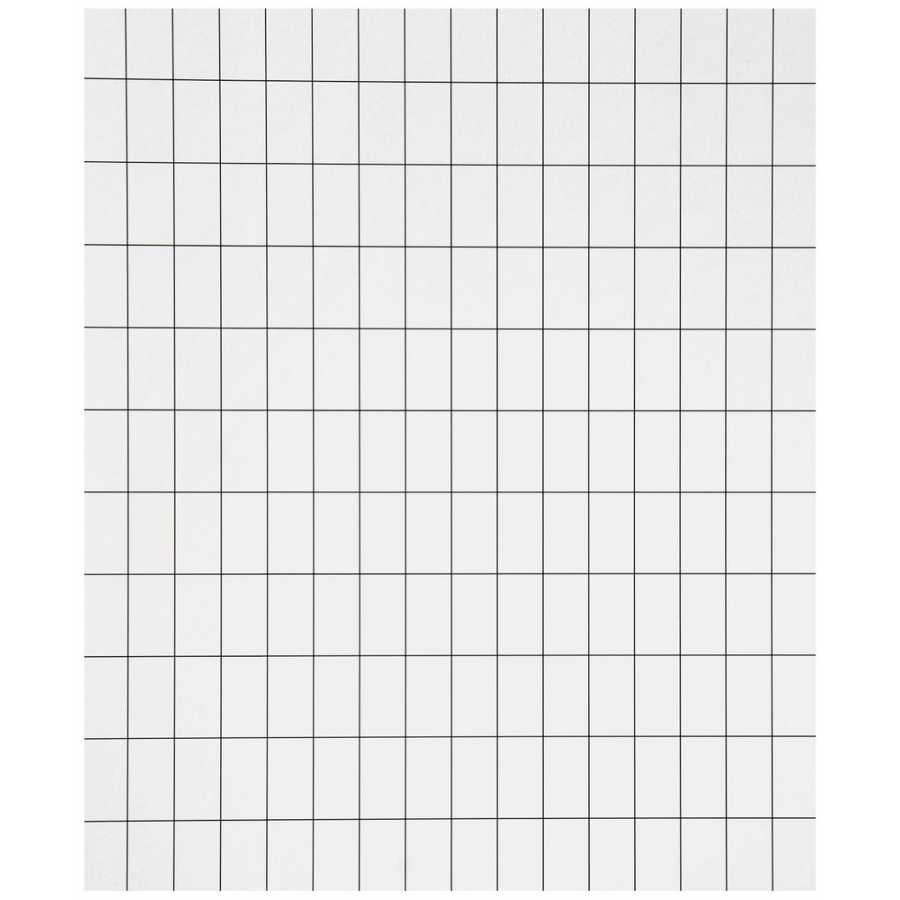 Ferm Living Grid Wallpaper - White / Black