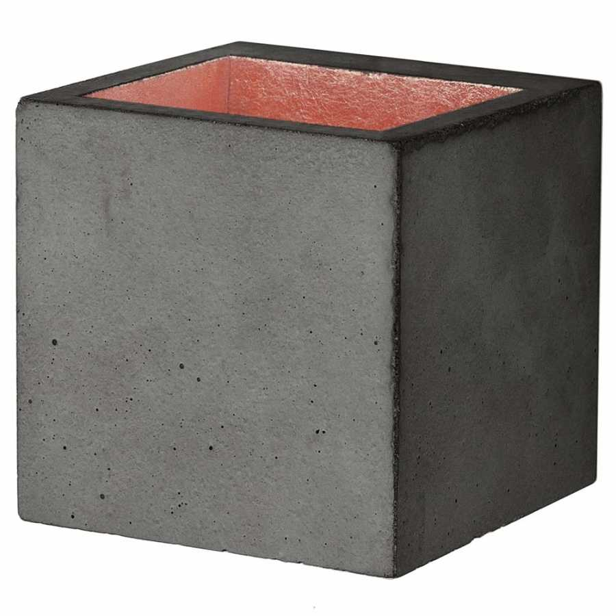 GANT Lights B9 Dark Grey Concrete Wall Light - Copper