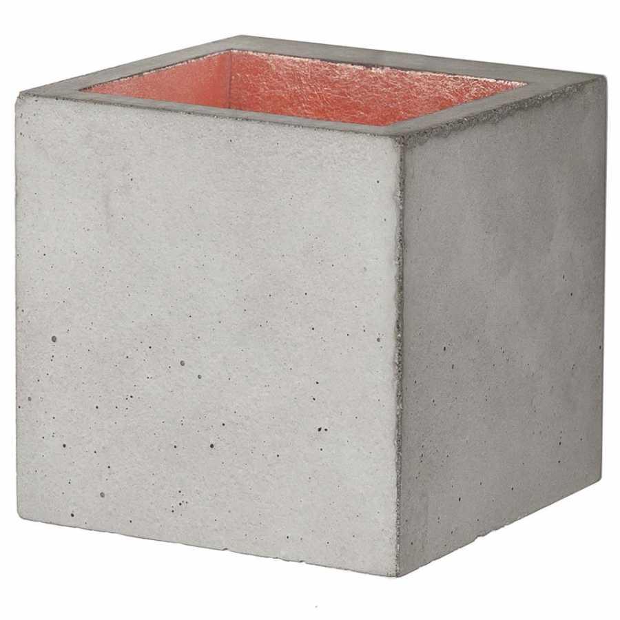 GANT Lights B9 Light Grey Concrete Wall Light - Copper
