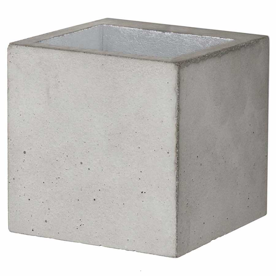 GANT Lights B9 Light Grey Concrete Wall Light - Silver