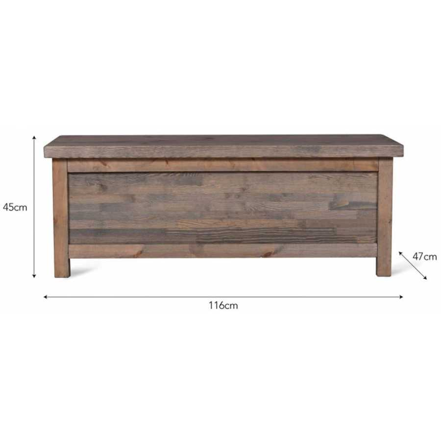 Garden Trading Aldsworth Hallway Bench Box