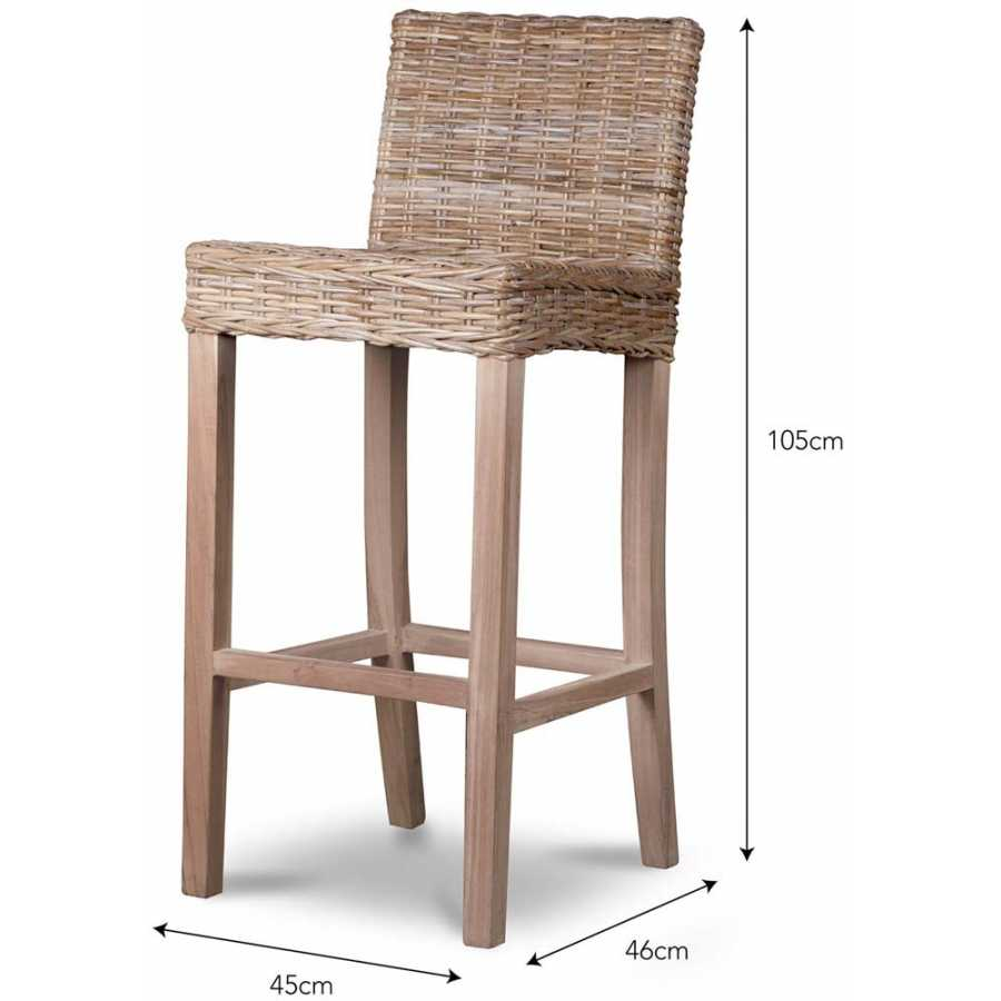 Garden Trading Bembridge Bar Stool