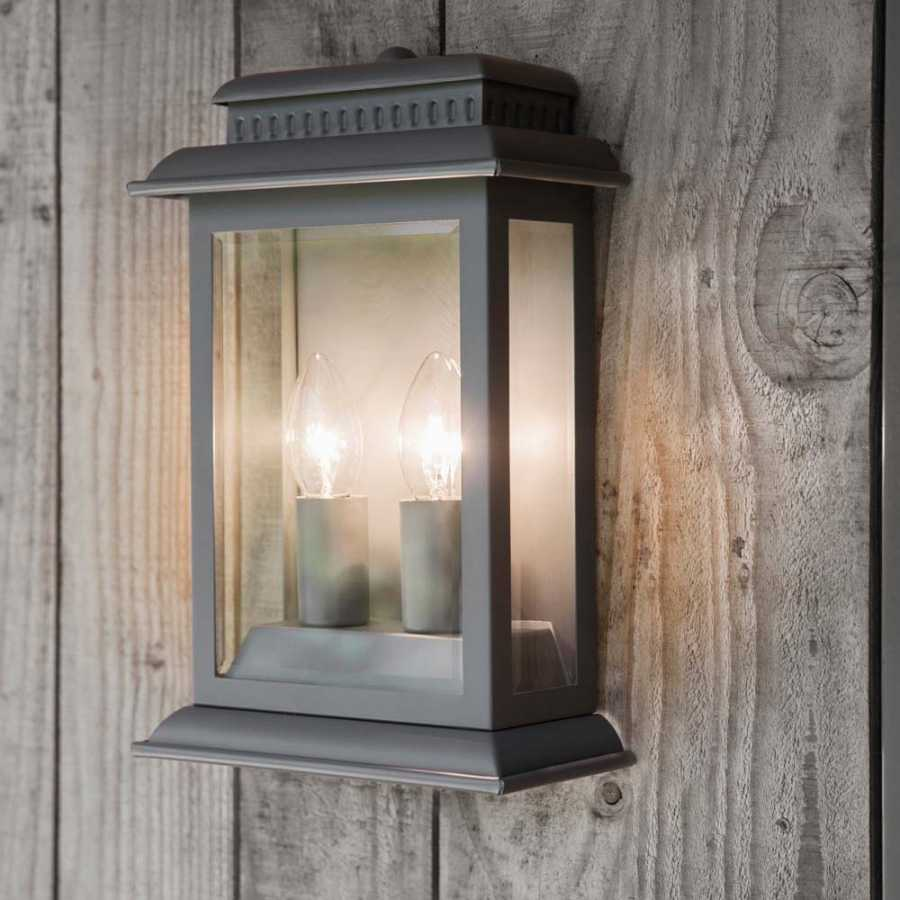 Garden Trading Belvedere Wall Light - Charcoal