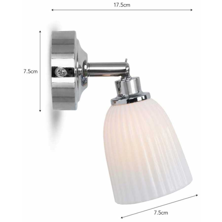 Garden Trading Alma Bathroom Spotlight