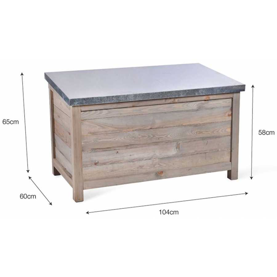 Garden Trading Aldsworth Outdoor Storage Box - Large