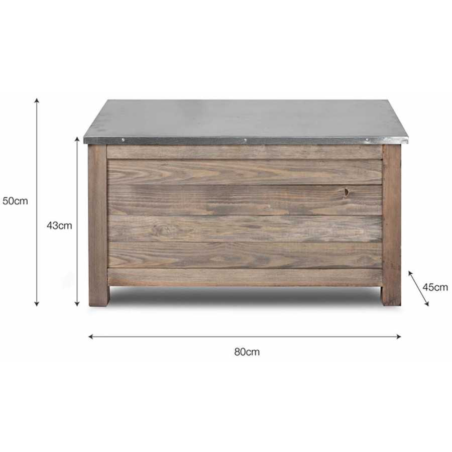 Garden Trading Aldsworth Outdoor Storage Box - Small