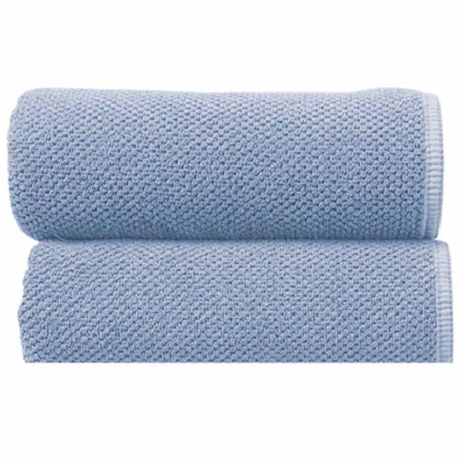 Graccioza Bee Waffle Towels - Baby Blue