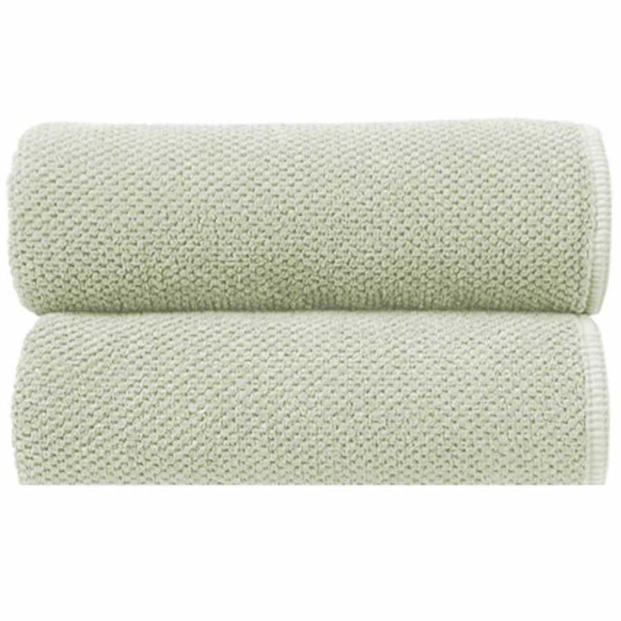 Graccioza Bee Waffle Towels - Celery
