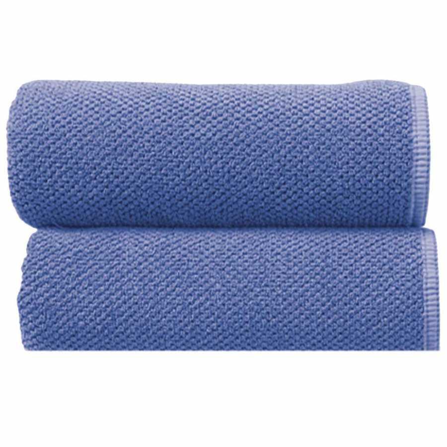 Graccioza Bee Waffle Towels - Sapphire