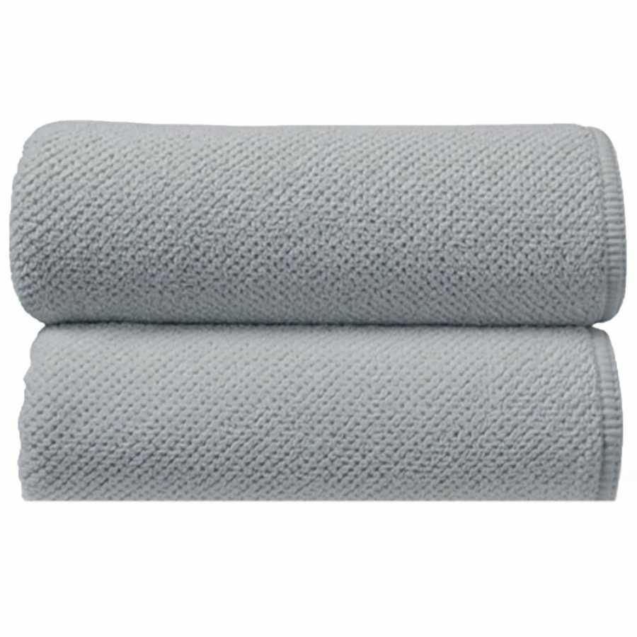 Graccioza Bee Waffle Towels - Silver