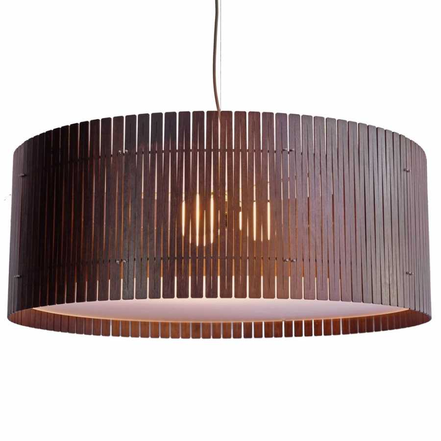 Graypants Kerflight D9 Pendant Lights - Espresso