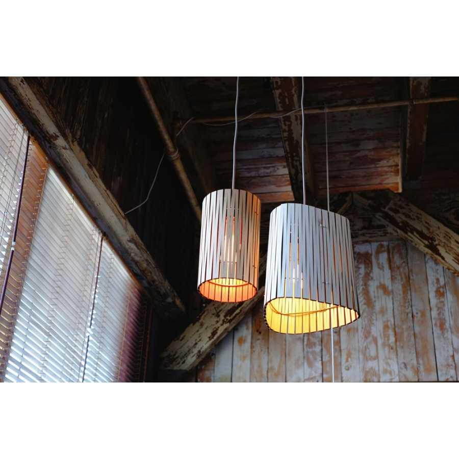 Graypants Kerflight P3 Pendant Lights - White